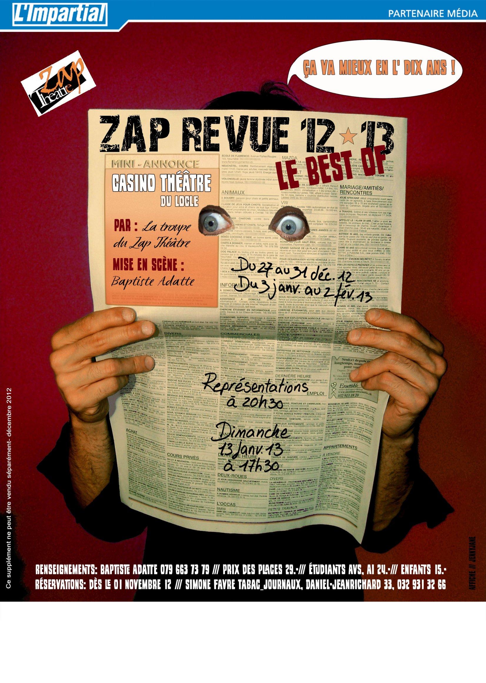 Zap Revue 2012-2013